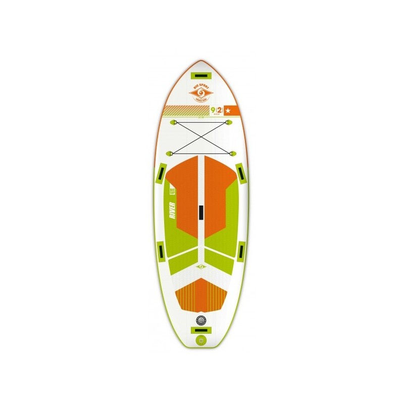 BIC PADDLE GONFLABLE RIVER AIR SURF 9.2