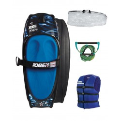 JOBE STREAK KNEEBOARD BLUE PACKAGE