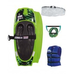JOBE STREAK KNEEBOARD GREEN PACKAGE