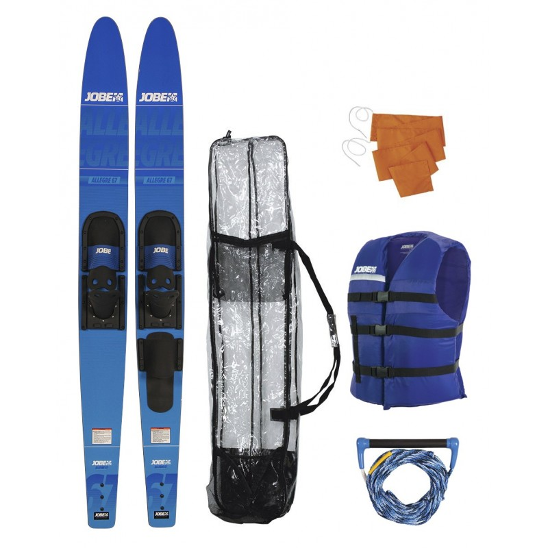 JOBE ALLEGRE COMBO SKIS PACKAGE BLUE - 67""