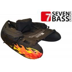SEVEN BASS FLOAT TUBE DEVIL - HARD FABRIC LINE
