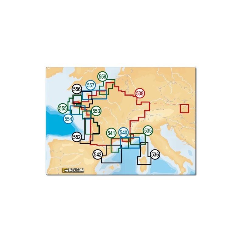 NAVIONICS+ SMALL SD - OLONNE / DOUARNENEZ - 554