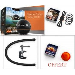 PACK DEEPER PRO+  + BRAS DE FIXATION FLEXIBLE + FIXATION SMARTPHONE