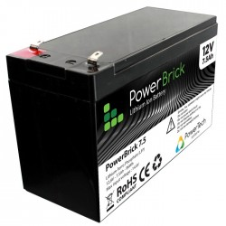 POWERBRICK + BATTERIE LITHIUM ION 12 V - 7.5 AH – LiFePO4