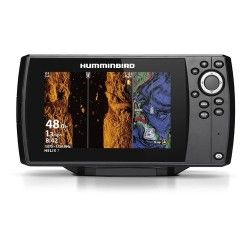 HUMMINBIRD COMBINE HELIX 7 G3N CHIRP MEGA SI - SONDE TABLEAU ARRIERE + T°