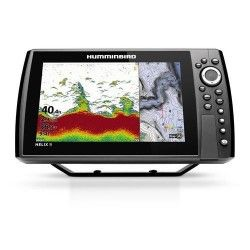 HUMMINBIRD COMBINE HELIX 9 G3N CHIRP DS - SONDE TABLEAU ARRIERE + T°
