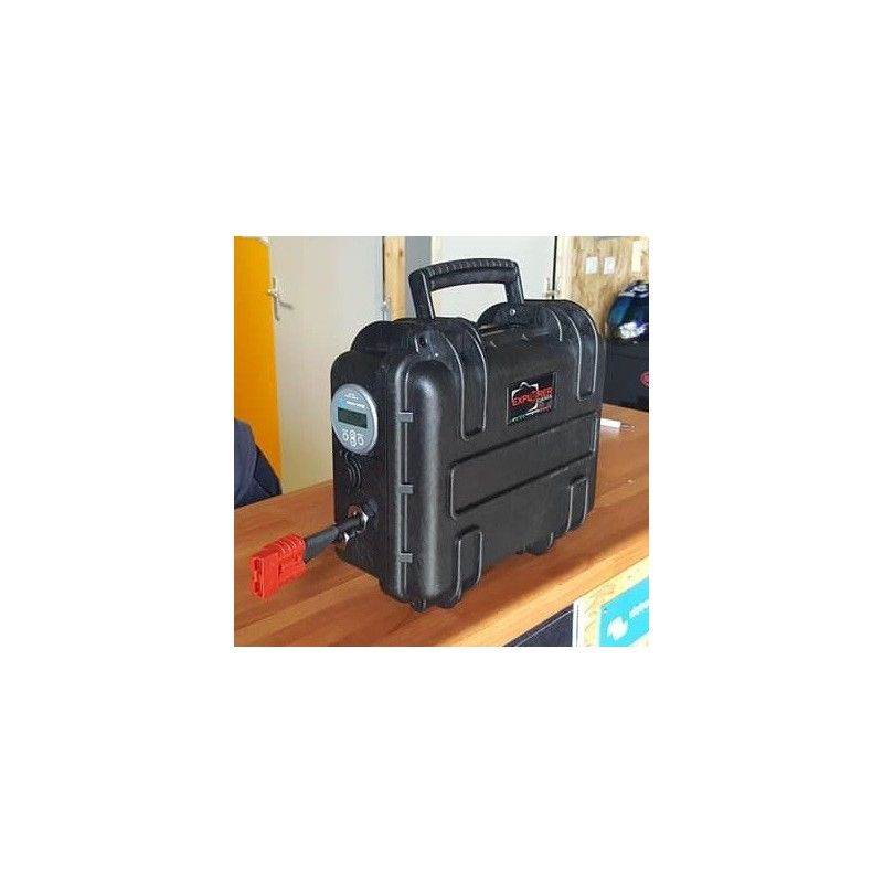 ENERGY CASES VALISE LITHIUM 12V - 80 AMP